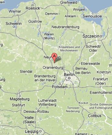 Land Brandenburg Karte.Anfahrt Nach Wustrau